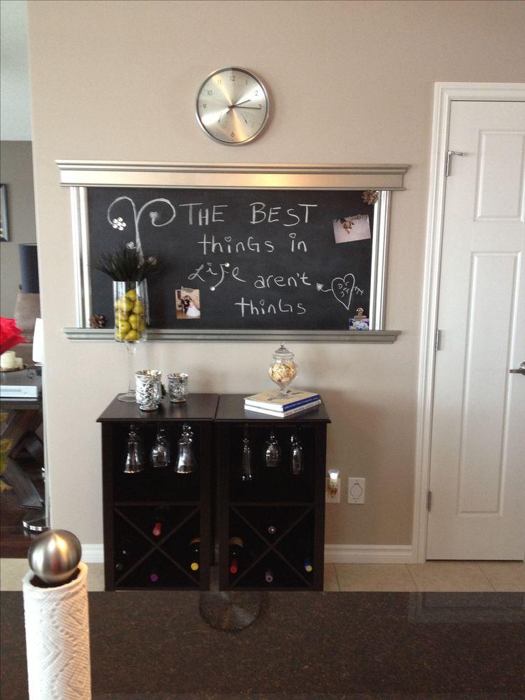 11 best ideas about kitchen ideas on pinterest diy for Kitchen chalkboard designs