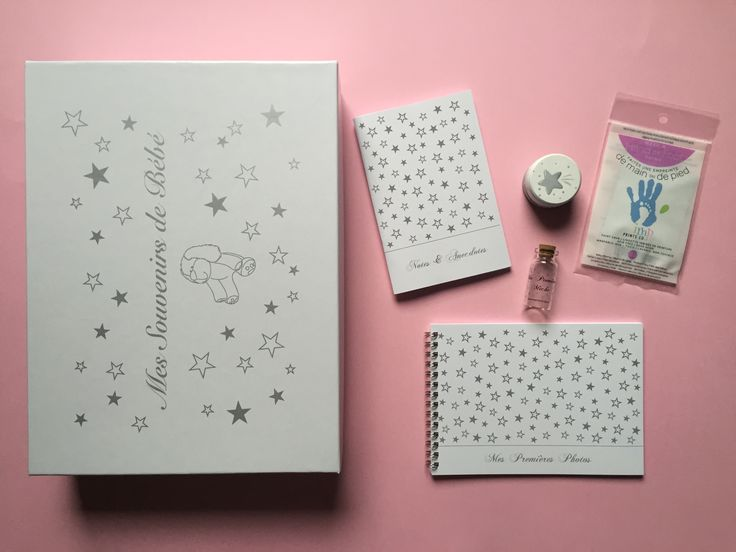 Boîte à souvenirs de bébé / My memories baby box