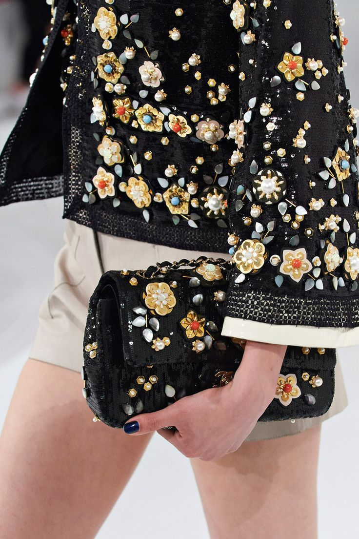 """style-and-stuffs: """" Chanel Resort 2016""""  Visit www.TheLAFashion.com for more Fashion insights and tips."""