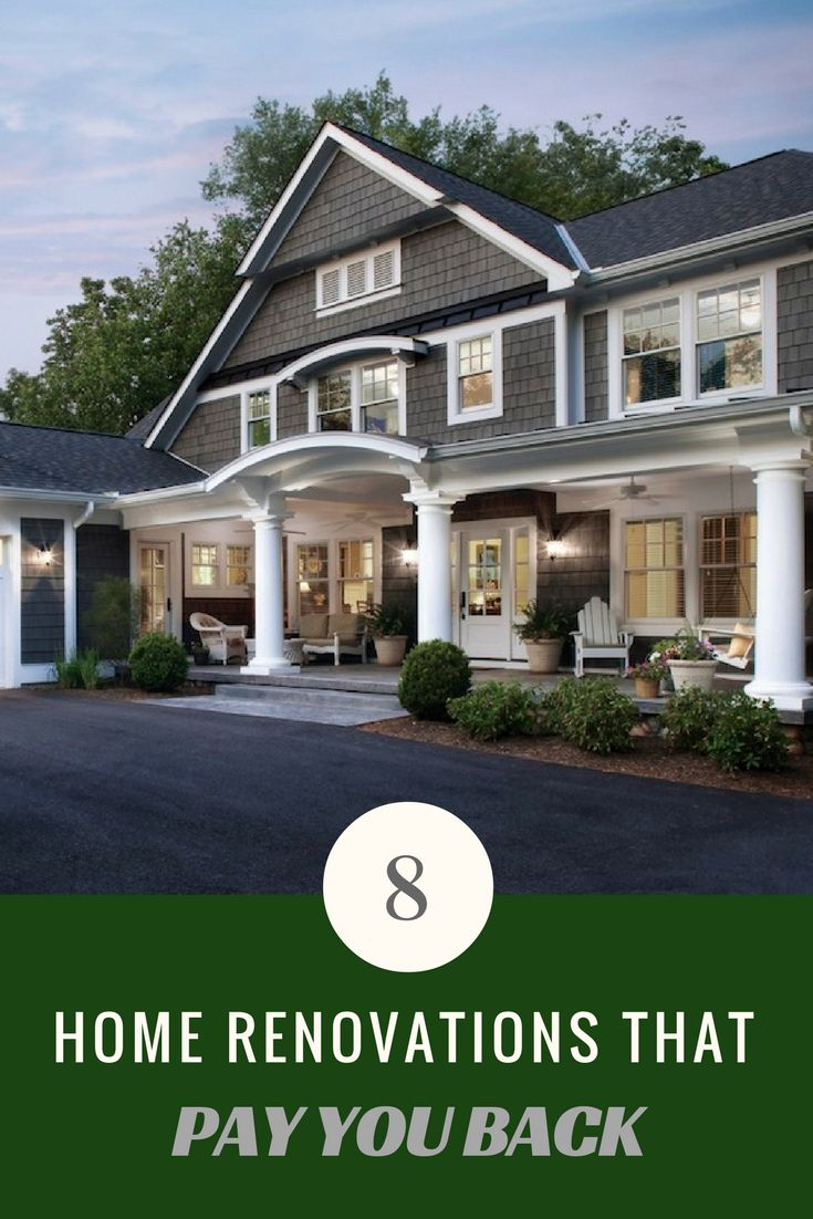 257 best bob vila 39 s tips real estate images on pinterest for Best return on investment home improvements