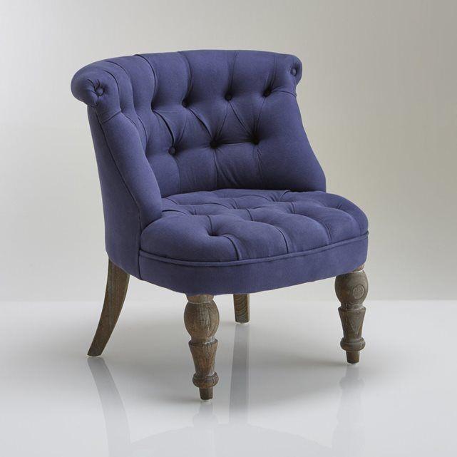 Les 25 meilleures id es de la cat gorie petit fauteuil crapaud sur pinterest - Petit fauteuil capitonne ...