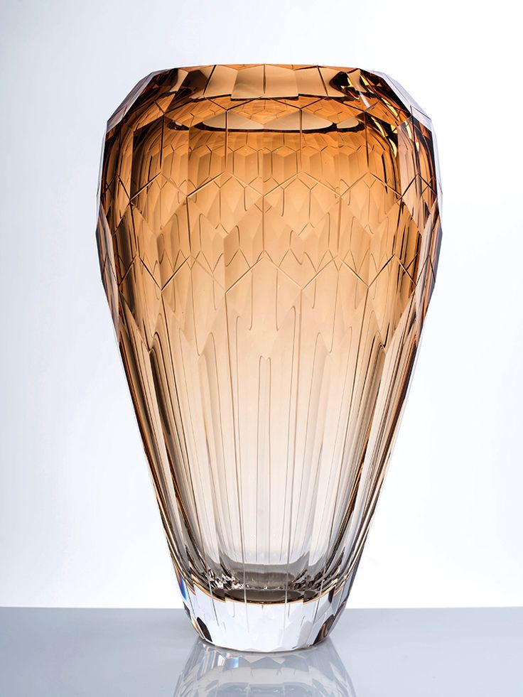 Glass vase designed for Moser - Cinque Torri  by Filip Dobias