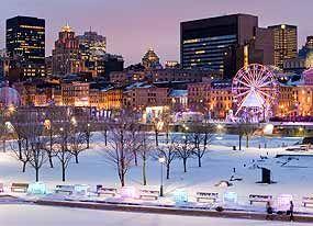 Old Port of Montréal ice skating rink