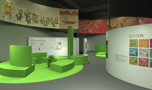 W ramach promocji najlepszych absolwentów, Polsko- Japońska Wyższa Szkoła Technik Komputerowych prezentuje prace absolwentów studiów licencjackich 2013 r. na kierunku Architektura Wnętrz. Jedną z nich jest Malwina Grześkiewicz, która zaprojektowała niecodzienną wystawę z myślą o dzieciach i ich rodzicach. http://sztuka-wnetrza.pl/1855/artykul/rdquo-chcemy-wiedziec-rdquo-interaktywna-wystawa-ilustracji-do-ksiazek-edukacyjnych-dla-dzieci