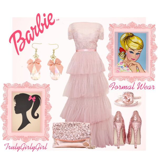 """Barbie: Formal Wear"" by trulygirlygirl on Polyvore"