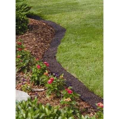 10 ft brown lawn edging border for Easy gardener lawn edging