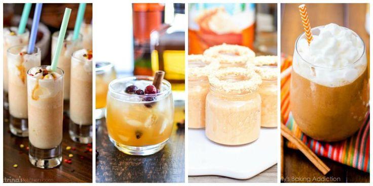 16 Pumpkin Drinks - Pumpkin Cocktail Recipes