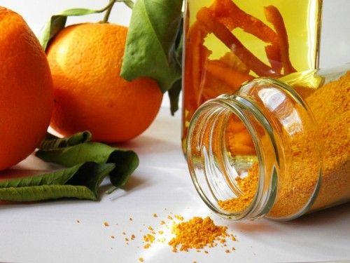 Narancspor, narancsaroma házilag