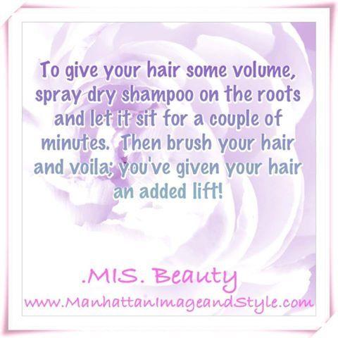 A beauty tip!