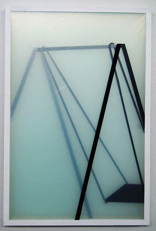 warstwy snu - huśtawka - akryl na ośmiu warstwach folii, 80/120cm /layers of dream - swing - acrylic on eight layers of foil, 31,5/47inch http://www.facebook.com/cin3k88/ na sprzedaż/for sale