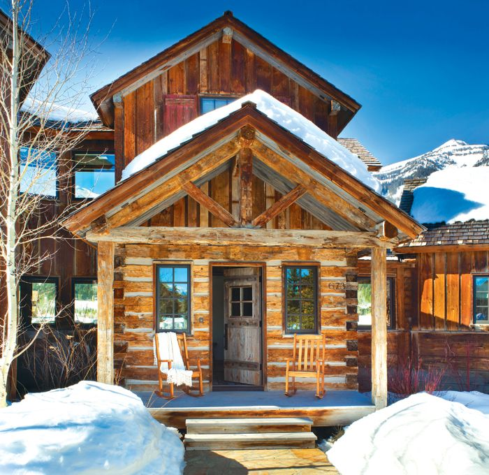 Wyoming Shooting Stars: 56 Best Rustic Mountain Homes Images On Pinterest