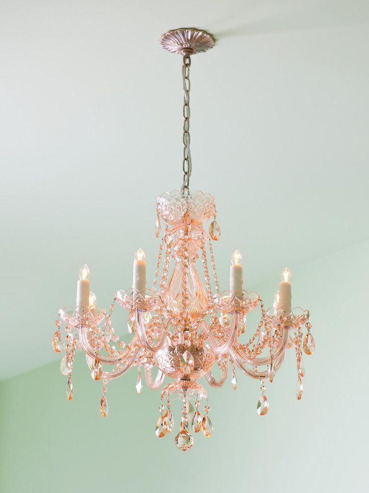 25 best ideas about pink chandelier on pinterest retro 12832 | e377227944d3edf568664ccb66f17fbc pink chandelier girls bedroom