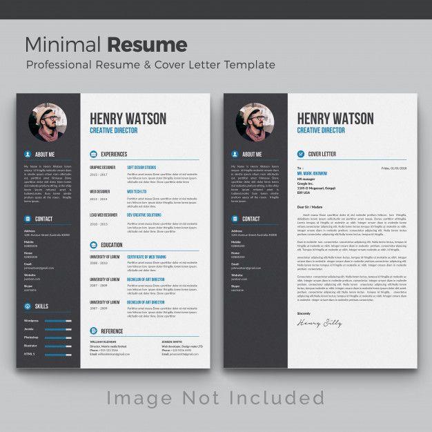 Professional Curriculum Free Design Cv Template Resume Jobs