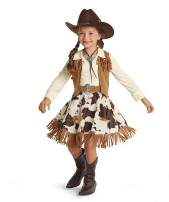 western cowgirl costume - Only at Chasing Fireflies - Your rodeo queen's ready to have a calf-ropin', steer-ridin' good time.