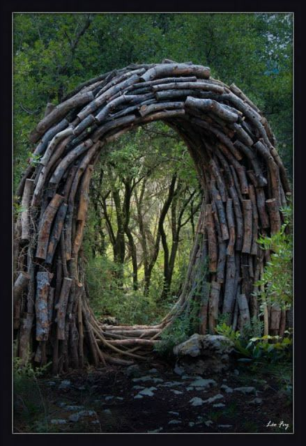 A Year in a French Forest. 2011-2012 Forest Sculptor Spencer Byles.