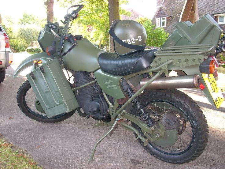 British Army Harley Davidson MT350