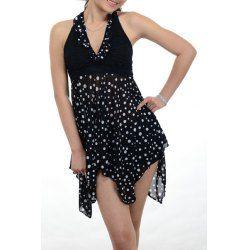 Sexy Halter Sleeveless Cut Out Plus Size Swimwear For Women | NastyDress.com