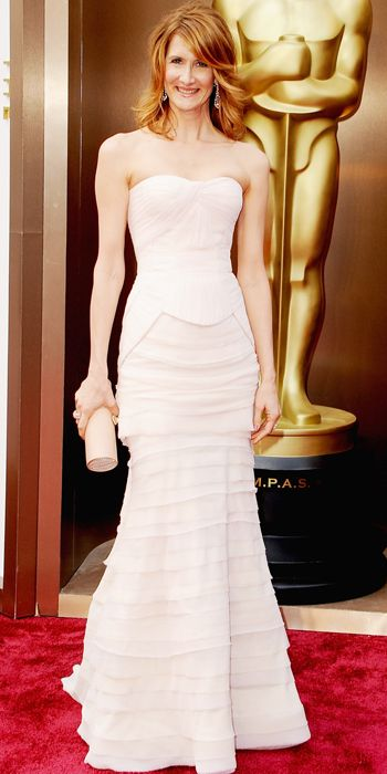 Bridal Gowns Inspired by the Red Carpet - Demure Pastels: Laura Dern from #InStyle