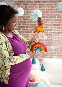 Free crochet pattern - child's bedroom mobile