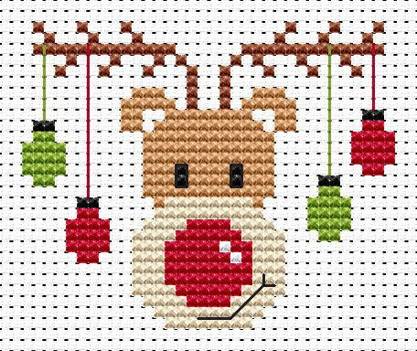 Sew Simple Rudolf Cross Stitch Kit                                                                                                                                                                                 More