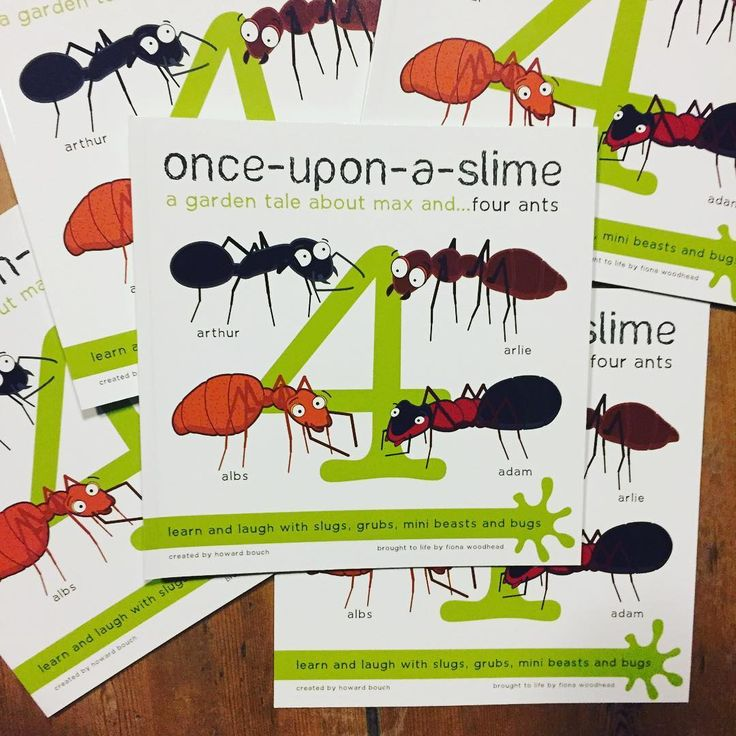 we are IN STOCK!  The Ant  picture book is now available from our website: www.onceuponaslime.com! It feels like a real achievement to have completed the full series and couldn't have done it without the support of the local schools, bookshops and the family!  #books #childrenbook #author #illustrator #selfpublished #onceuponaslime #proofs #lovebooks #booksofinstagram #ant #spider #minibeast #illustration #childrensbook #book #frontcoverdesign #bookcover #bookcoverdesign #bug #bugs…