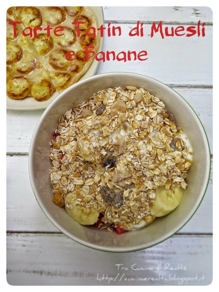 Tra Cucina & Realtà: Tarte Tatin di Banane con Muesli e crema di Yogurt al sentore di Fragola http://cucinaerealta.blogspot.it/2015/07/tarte-tatin-di-banane-con-muesli-e-crema-di-yogurt-al-sentore-di-fragola-tra-cucina-e-realta-lisa.html