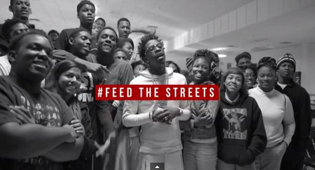 [Video] Rich Homie Quan Gives out over 100 Turkeys in Atlanta- http://getmybuzzup.com/wp-content/uploads/2014/12/Rich-Homie-Quan-Feed-The-Streets-2014.png- http://getmybuzzup.com/video-rich-homie-quan-gives-100-turkeys-atlanta/- Rich Homie Quan -Feed The Streets 2014 Hip-Hop fan favoriteRich Homie Quancelebrated the Thanksgiving holiday giving back to his Atlanta community. The rap star linked up with his labelThink It's A Game (T.I.G.) Recordsto launch the2nd