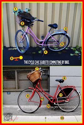Copenhagen Cycle Chic Guide to Bike Commuting - Choosing a Bicycle