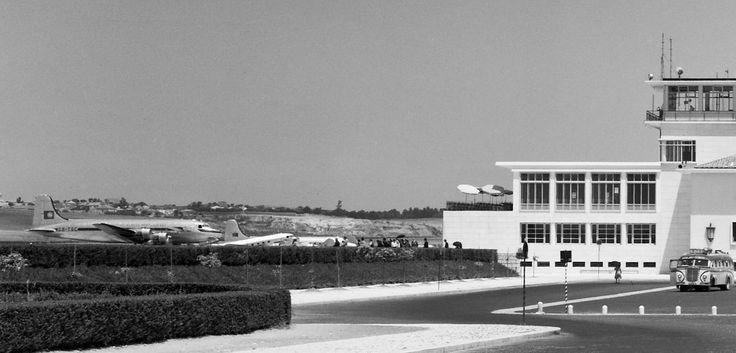Aeroport de Lisbonne. 1947