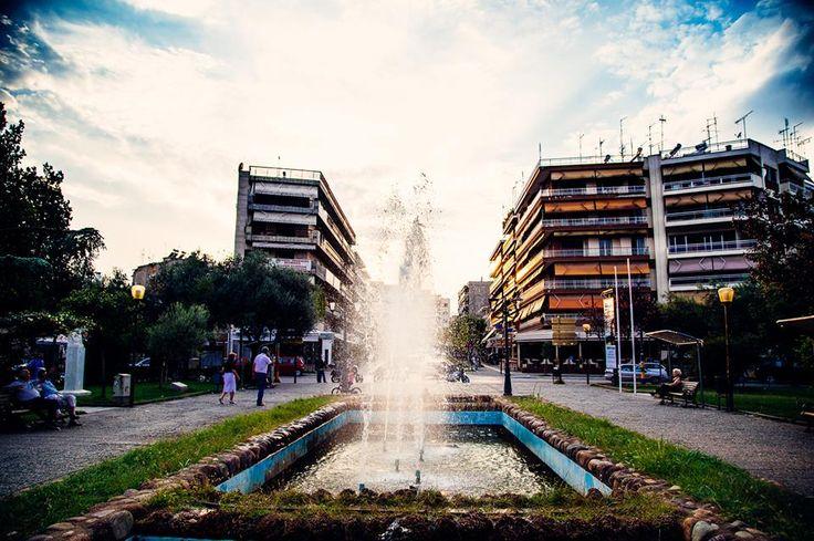 Ραντεβού στο συντριβάνι... Σημείο αναφοράς της πόλης... #arive #photo #21_09_13 www.arive.gr/photos.html