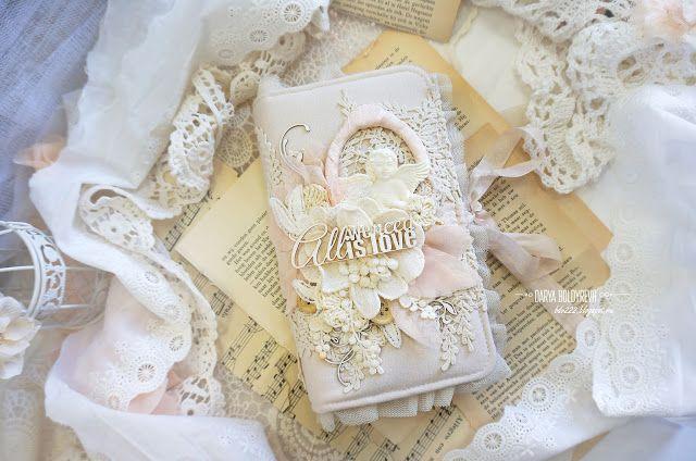 Мой сказочный мир: Шебби-блокнот. История о том, как я захотела попробовать себя в другом стиле))