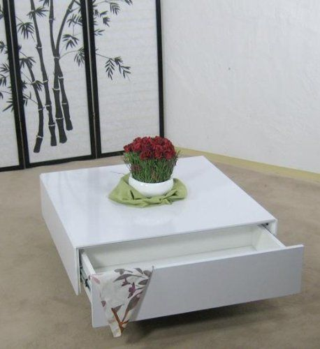 Stolik 60*60*36cm,biały W.połysk z 2 szufladami (5176250034) - Allegro.pl - Więcej niż aukcje.