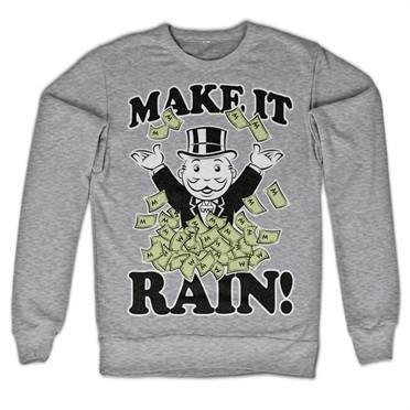 Monopoly - Make It Rain Sweatshirt - www.tshirt.sjappa.no