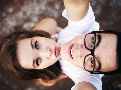 Cute selfie pose