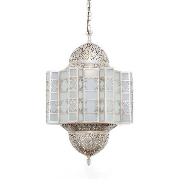 KASBAH Ceiling Light Nickel (1 245 AUD) ❤ liked on Polyvore featuring home, lighting, ceiling lights, moroccan hanging lights, moroccan hanging lamps, floral lamps, moroccan ceiling lights and moroccan pendant light