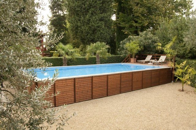 1000 ideas about piscine hors sol on pinterest petite for Mini piscine rectangulaire