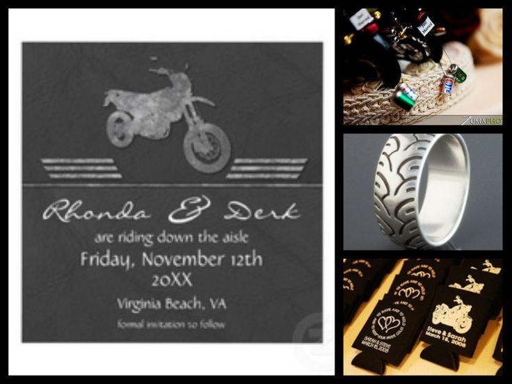 Motorcycle wedding theme | Motorcycle Wedding | Pinterest ...