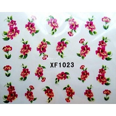 water transfer printen nagel stickers xf1023 - EUR € 1.93