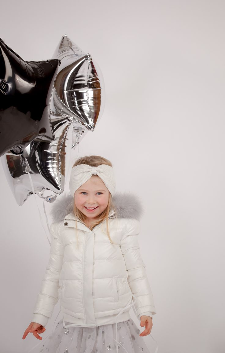 Collection CdeC AW 2014 - Grand froid. Doudoune Buche Snowy Ivoire, jupe Craziness Silver #cdec #lookbook #kidsfashion