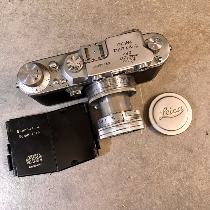 Leica IIIb 1940 Summitar