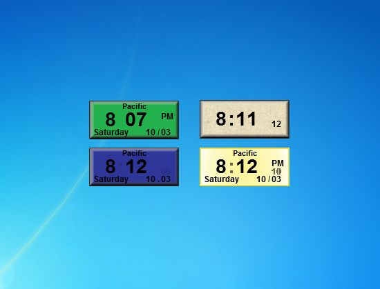 Forex clock gadget windows 7