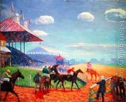 Racetrack  by William Glackens