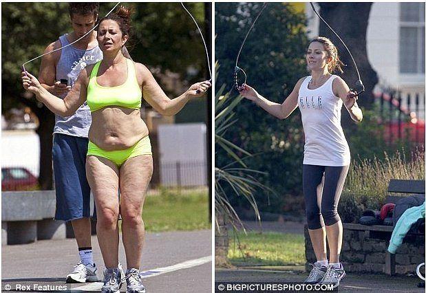 Бег чтобы сильно похудеть
