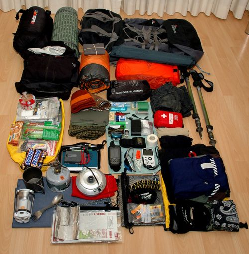 sleepwalkingthrudreams:    Hike Gear by Nick Wehnes on Flickr.