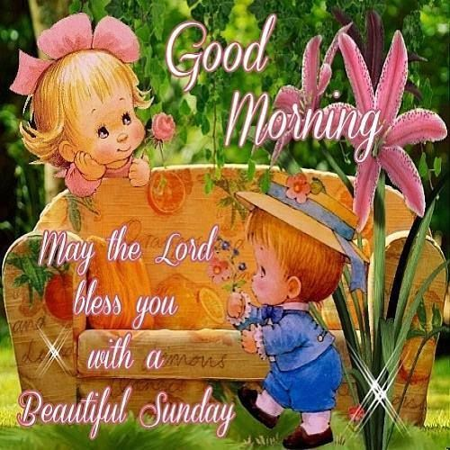 Good Morning, May The Lord Bless You With A Beautiful Sunday sunday sunday quotes blessed sunday sunday blessings sunday pictures