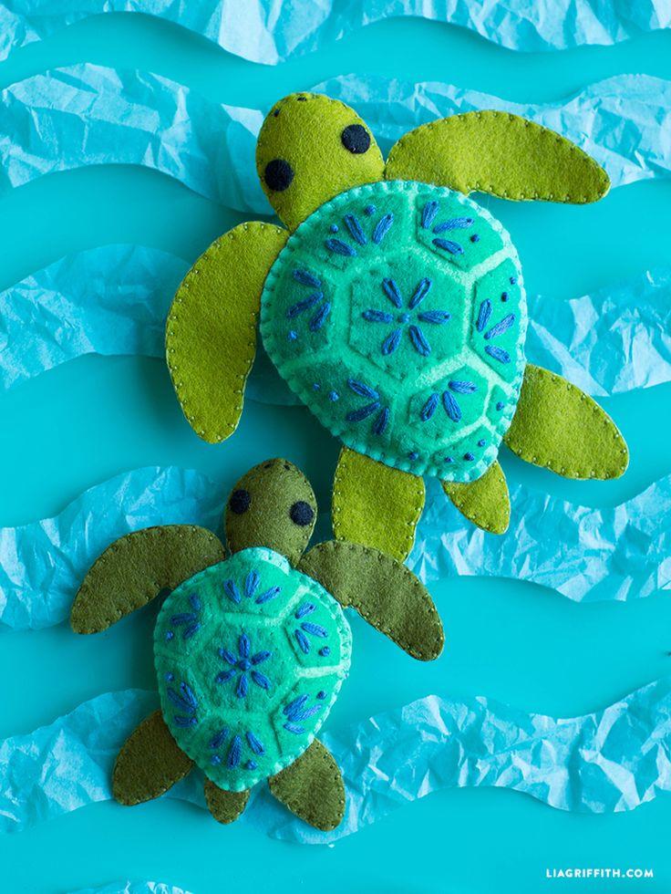 best 25  felt turtle ideas on pinterest
