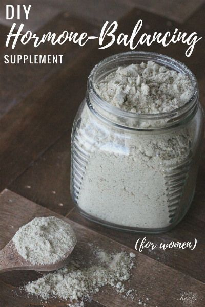 How to Balance Hormones Naturally: Your DIY Supplement   The Family That Heals Together
