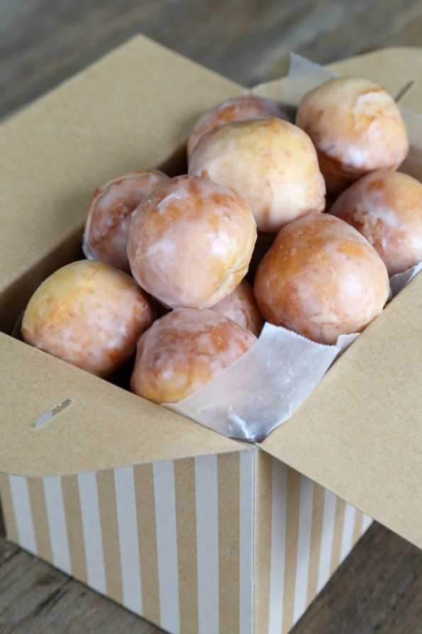 Glazed Gluten Free Donut Holes - Gluten-Free on a Shoestring