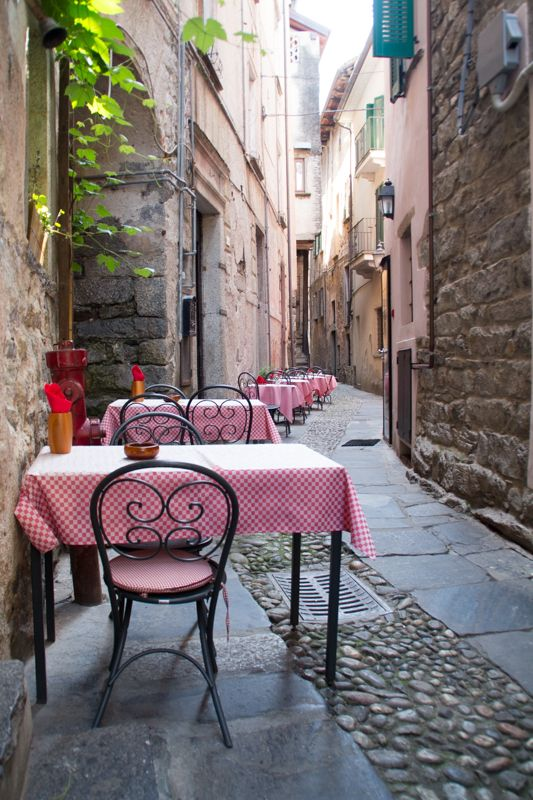 Small charming town of Orta San Giulio on Lago d'Orta Italian Summers by Lisa