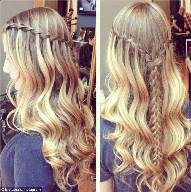 Rapunzel locks: Some of the more complex braids are accompanied by step-by-step tutorials ...